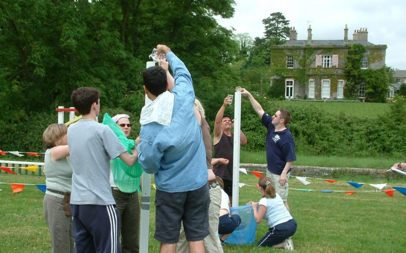 Three Stages Of Objectives For Team-Building Events