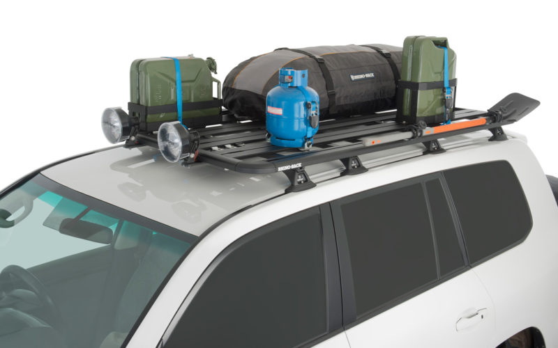 Why Steel Flat Roof Racks Are Suitable For 120 Series Prado
